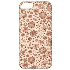 Retro Sketchy Floral Patterns Apple Iphone 5 Classic Hardshell Case by TastefulDesigns