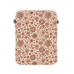 Retro Sketchy Floral Patterns Apple Ipad 2/3/4 Protective Soft Cases by TastefulDesigns