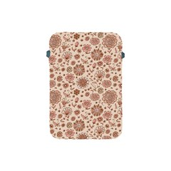 Retro Sketchy Floral Patterns Apple Ipad Mini Protective Soft Cases by TastefulDesigns