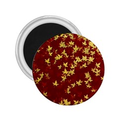 Background Design Leaves Pattern 2 25  Magnets by Simbadda