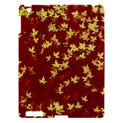 Background Design Leaves Pattern Apple Ipad 3/4 Hardshell Case by Simbadda