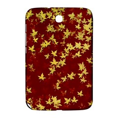 Background Design Leaves Pattern Samsung Galaxy Note 8 0 N5100 Hardshell Case  by Simbadda