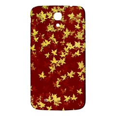 Background Design Leaves Pattern Samsung Galaxy Mega I9200 Hardshell Back Case