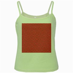 Background Letters Decoration Green Spaghetti Tank by Simbadda