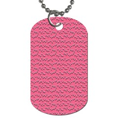 Background Letters Decoration Dog Tag (one Side) by Simbadda