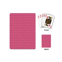 Background Letters Decoration Playing Cards (mini)  by Simbadda