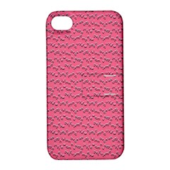 Background Letters Decoration Apple Iphone 4/4s Hardshell Case With Stand by Simbadda