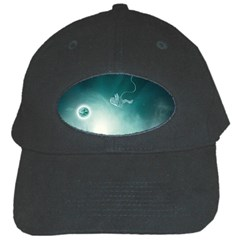 Astronaut Space Travel Gravity Black Cap by Simbadda