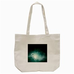 Astronaut Space Travel Gravity Tote Bag (cream) by Simbadda