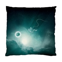 Astronaut Space Travel Gravity Standard Cushion Case (two Sides) by Simbadda