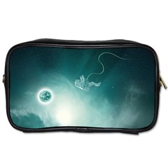 Astronaut Space Travel Gravity Toiletries Bags 2 Side by Simbadda