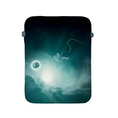 Astronaut Space Travel Gravity Apple Ipad 2/3/4 Protective Soft Cases by Simbadda