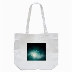 Astronaut Space Travel Gravity Tote Bag (white) by Simbadda