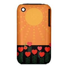 Love Heart Valentine Sun Flowers Iphone 3s/3gs by Simbadda