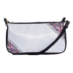 Floral Ornament Baby Girl Design Shoulder Clutch Bags by Simbadda