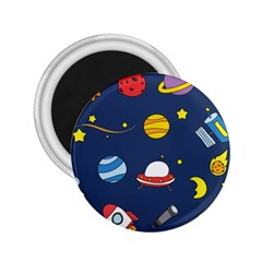 Space Background Design 2 25  Magnets by Simbadda