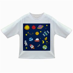 Space Background Design Infant/toddler T Shirts by Simbadda