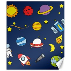 Space Background Design Canvas 20  X 24   by Simbadda