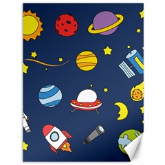 Space Background Design Canvas 36  X 48   by Simbadda