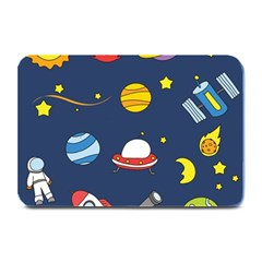 Space Background Design Plate Mats by Simbadda
