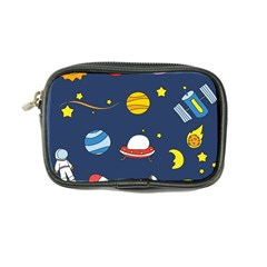 Space Background Design Coin Purse by Simbadda