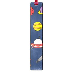 Space Background Design Large Book Marks by Simbadda