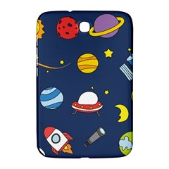 Space Background Design Samsung Galaxy Note 8 0 N5100 Hardshell Case  by Simbadda