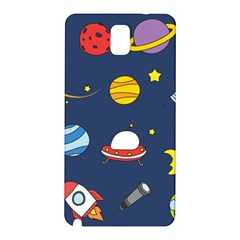 Space Background Design Samsung Galaxy Note 3 N9005 Hardshell Back Case by Simbadda