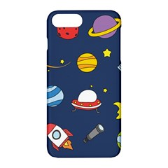 Space Background Design Apple Iphone 7 Plus Hardshell Case by Simbadda