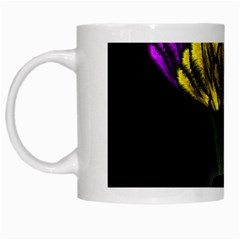 Flowers Painting Still Life Plant White Mugs by Simbadda