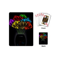 Flowers Painting Still Life Plant Playing Cards (mini)