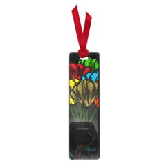 Flowers Painting Still Life Plant Small Book Marks by Simbadda