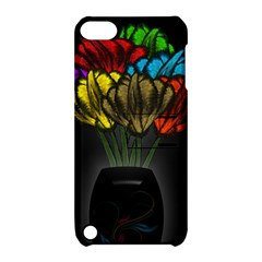 Flowers Painting Still Life Plant Apple Ipod Touch 5 Hardshell Case With Stand by Simbadda