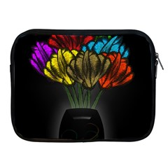 Flowers Painting Still Life Plant Apple Ipad 2/3/4 Zipper Cases by Simbadda