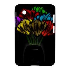 Flowers Painting Still Life Plant Samsung Galaxy Tab 2 (7 ) P3100 Hardshell Case  by Simbadda