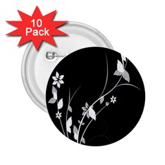 Plant Flora Flowers Composition 2 25  Buttons (10 Pack)  by Simbadda