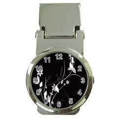 Plant Flora Flowers Composition Money Clip Watches by Simbadda