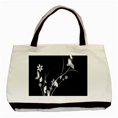 Plant Flora Flowers Composition Basic Tote Bag by Simbadda