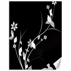 Plant Flora Flowers Composition Canvas 12  X 16   by Simbadda
