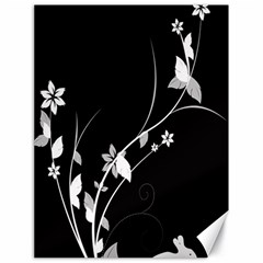 Plant Flora Flowers Composition Canvas 18  X 24   by Simbadda