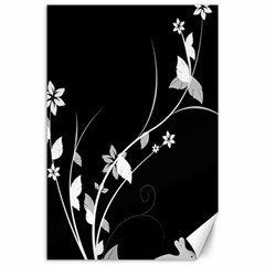 Plant Flora Flowers Composition Canvas 24  X 36  by Simbadda