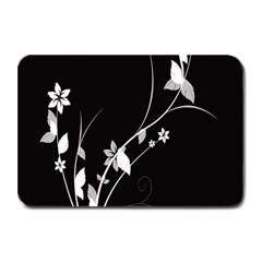 Plant Flora Flowers Composition Plate Mats by Simbadda