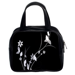 Plant Flora Flowers Composition Classic Handbags (2 Sides) by Simbadda
