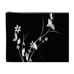 Plant Flora Flowers Composition Cosmetic Bag (xl) by Simbadda