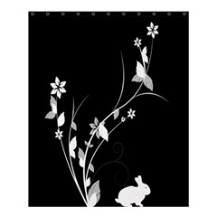 Plant Flora Flowers Composition Shower Curtain 60  X 72  (medium)  by Simbadda