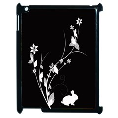 Plant Flora Flowers Composition Apple Ipad 2 Case (black) by Simbadda