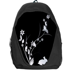 Plant Flora Flowers Composition Backpack Bag by Simbadda