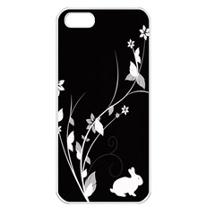 Plant Flora Flowers Composition Apple Iphone 5 Seamless Case (white) by Simbadda
