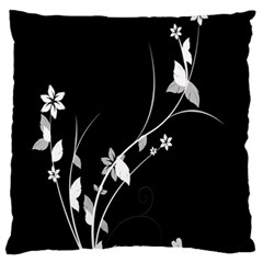 Plant Flora Flowers Composition Standard Flano Cushion Case (two Sides) by Simbadda