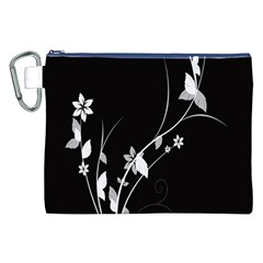 Plant Flora Flowers Composition Canvas Cosmetic Bag (XXL) by Simbadda